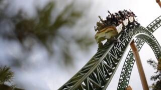 Busch Gardens roller coaster Cheetah Hunt.
