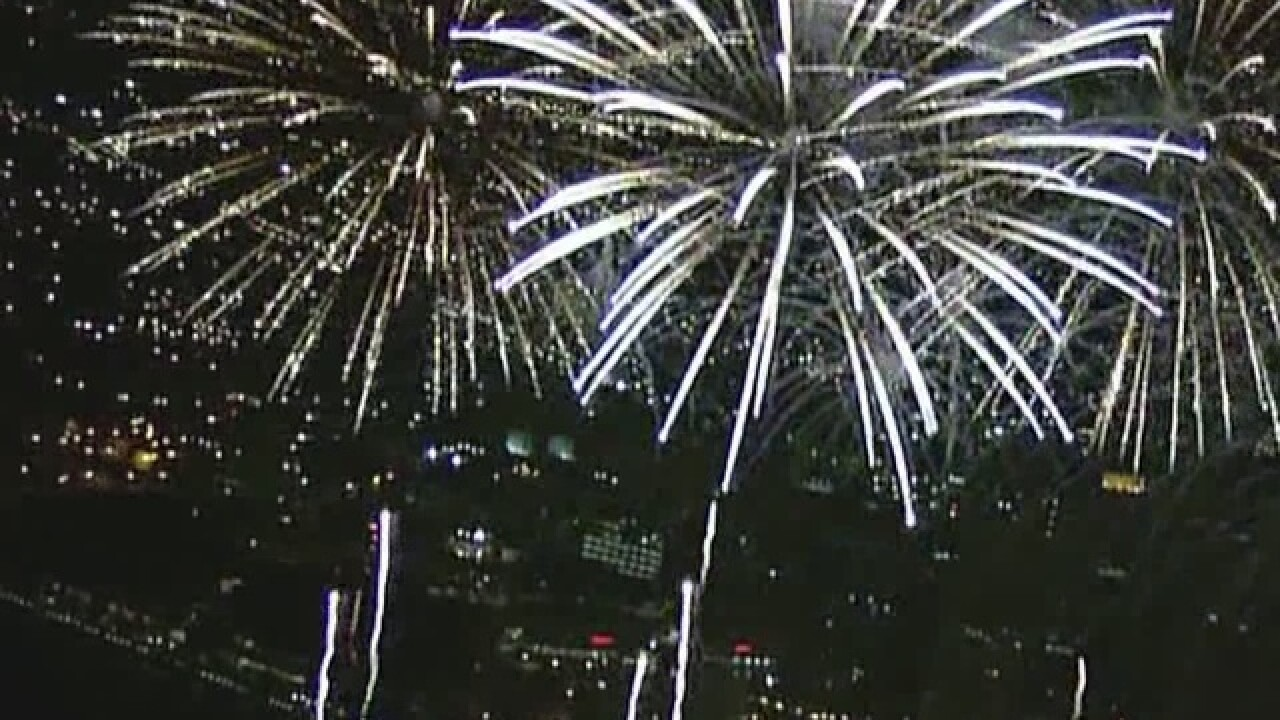 Dry conditions cause concern over fireworks