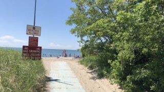 Bennett Beach reopens to swimming Friday