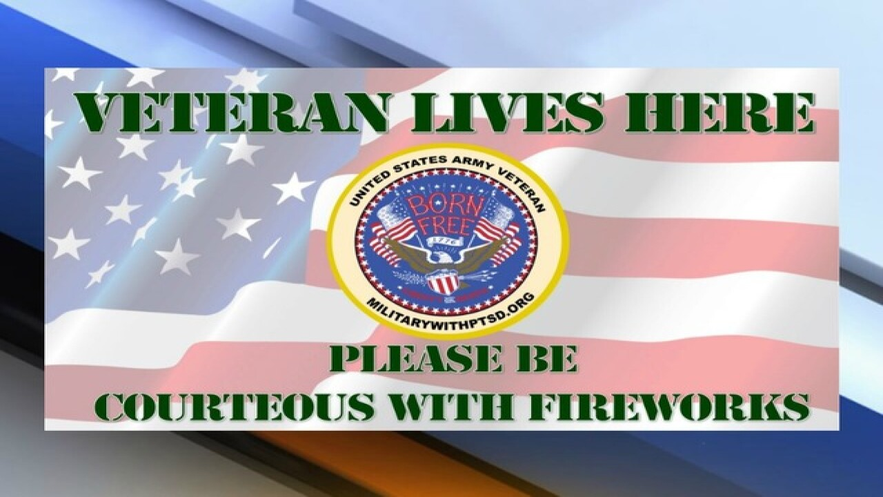 Reminder: 4th of July fireworks can be fun, but not for veterans with PTSD