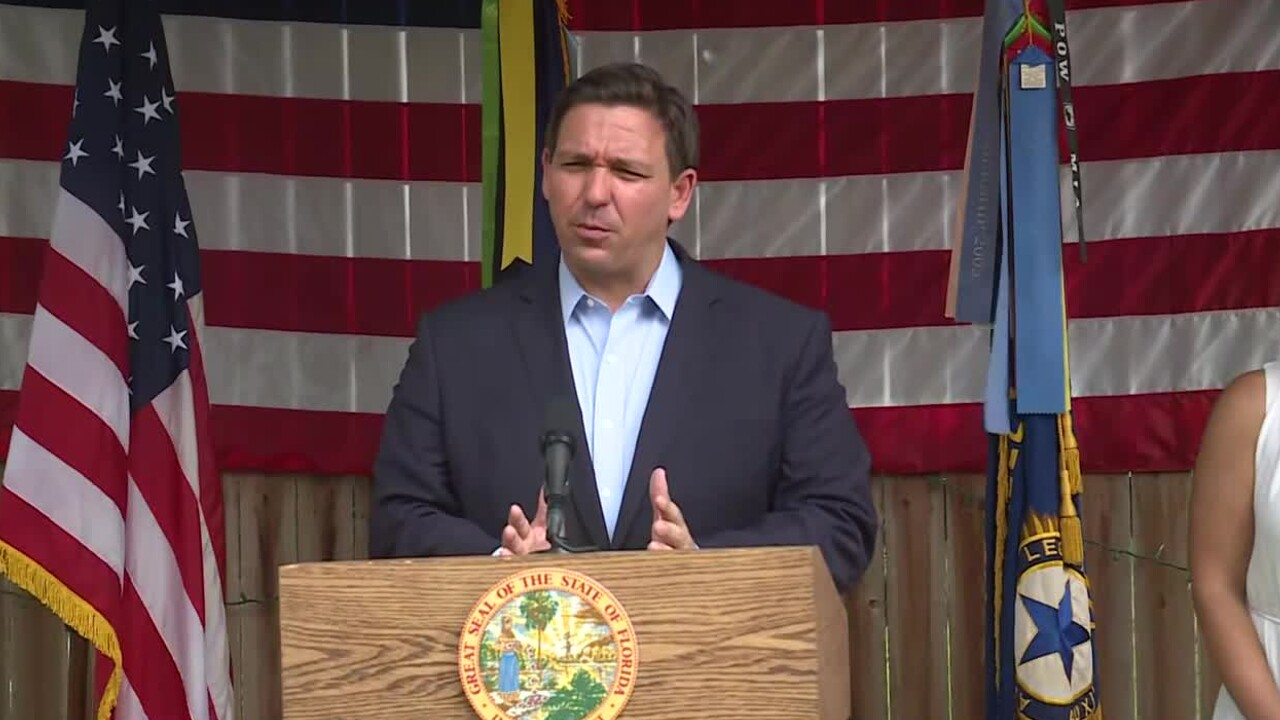 Florida Gov. Ron DeSantis speaks in Ponte Vedra Beach on Sept. 10, 2021.jpg