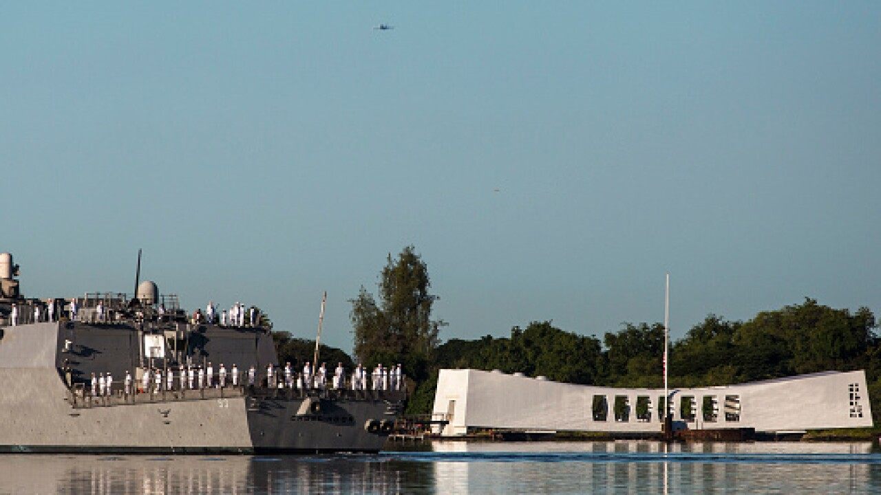 National Pearl Harbor Remembrance Day commemoration will continue as planned Saturday