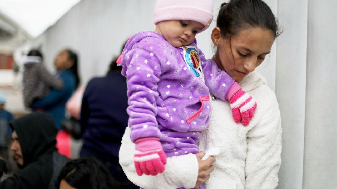 Almost 40,000 children will be taken into federal custody this month, US border official says