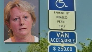 Florida mayor resigns after illegal disabled parking placard bust