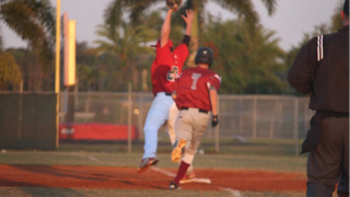 Seminole Ridge baseball player runs bases