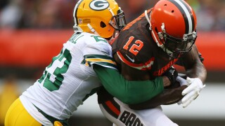 New Cleveland Browns defensive back Damarious Randall steps in it on Twitter