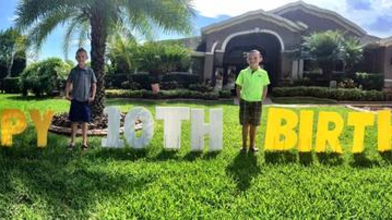 Yard Card business started by Lithia 17-year-old
