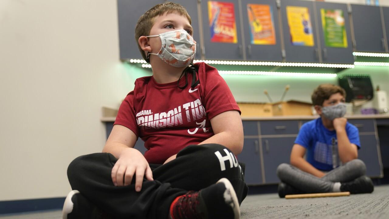 Virus Outbreak Texas