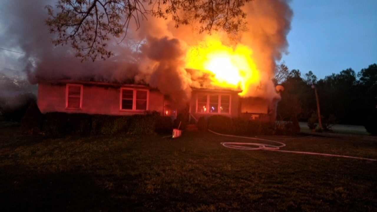 Suffolk Fire responds to 2-alarm house fire, firefighter and occupant treated