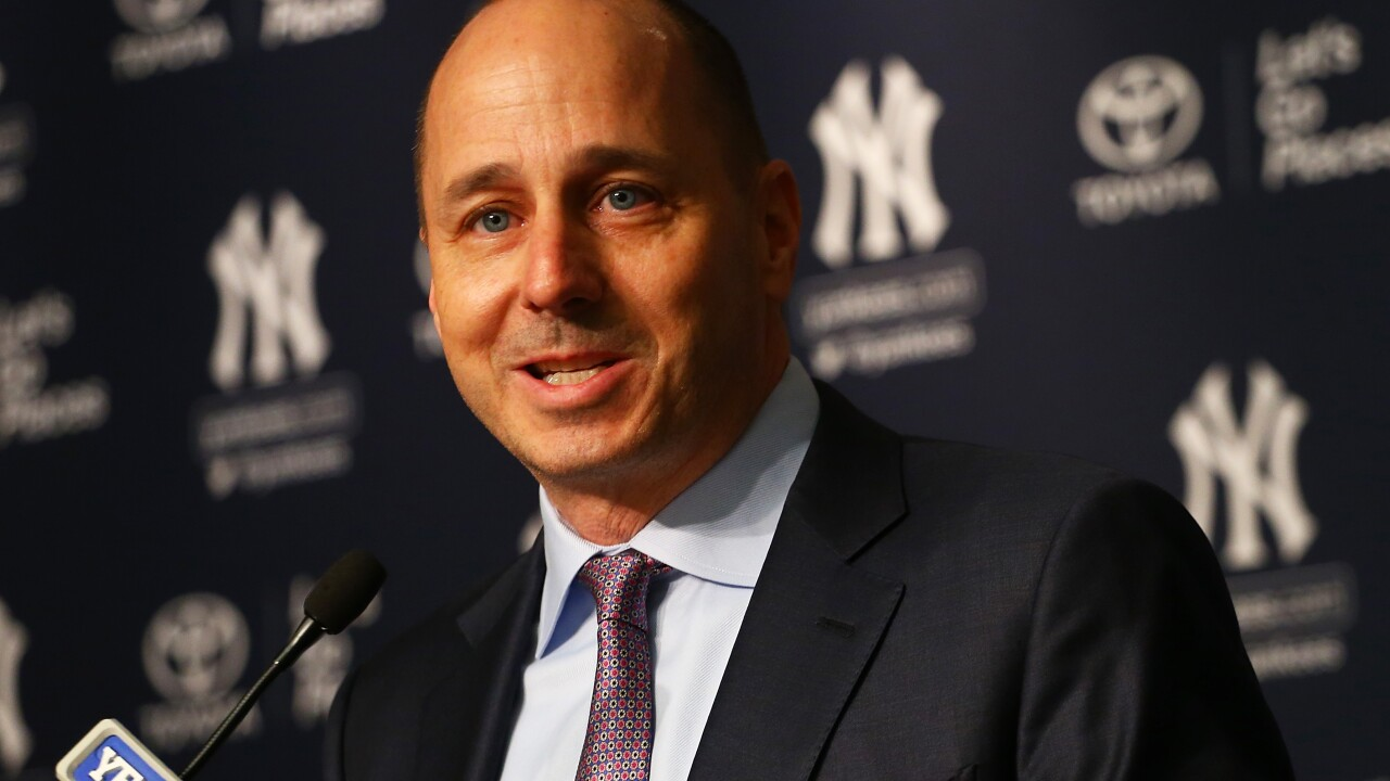 New York Yankees general manager Brian Cashman