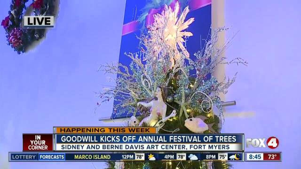 Festival of Trees raises money for Goodwill