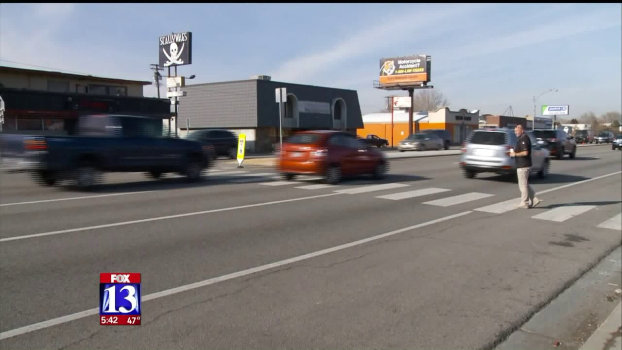 South Salt Lake Police conduct 'crosswalk sting' in response to safety concerns on State Street