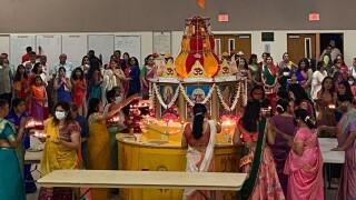 Celebration of Navarathri October 19, 2021