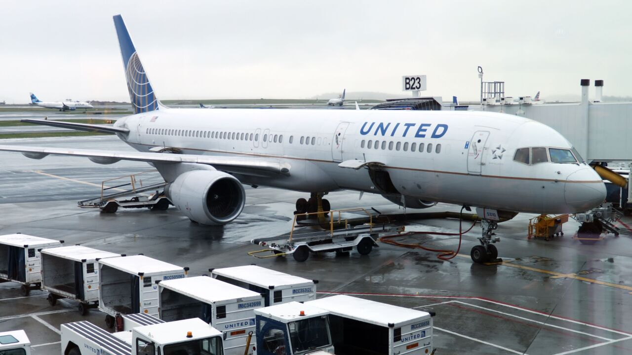 United flight diverted to free passenger stuck in bathroom