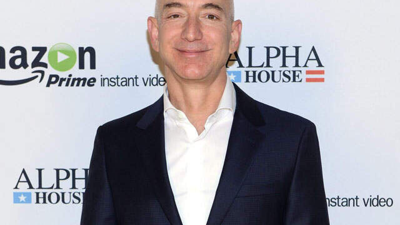 Amazon founder Jeff Bezos is now the richest person in modern history