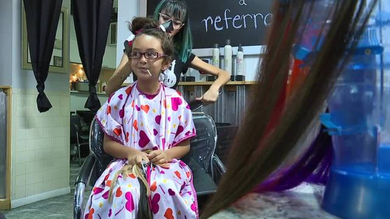 Salon offers free back to school hair cuts