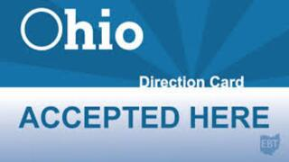 EBT Ohio Direction Card