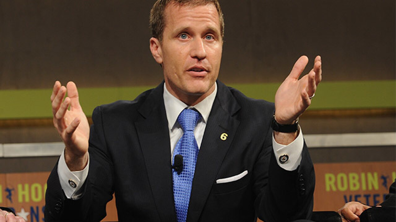 Missouri governor admits to extramarital affair