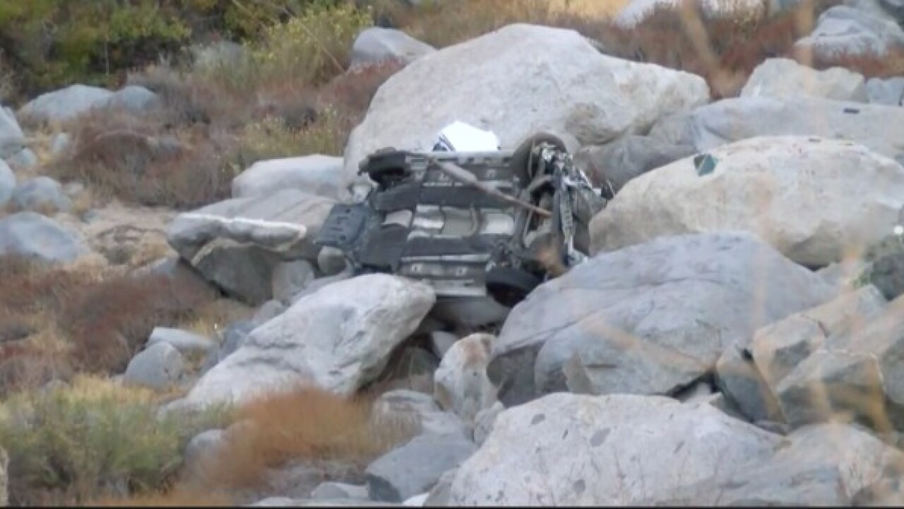 Both directions of 178 closed at mouth of the Kern River Canyon due to deadly rollover