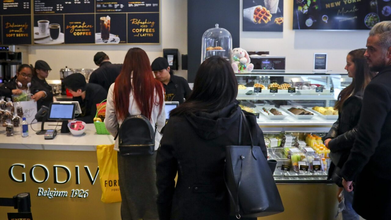 Godiva is closing all shops in North America