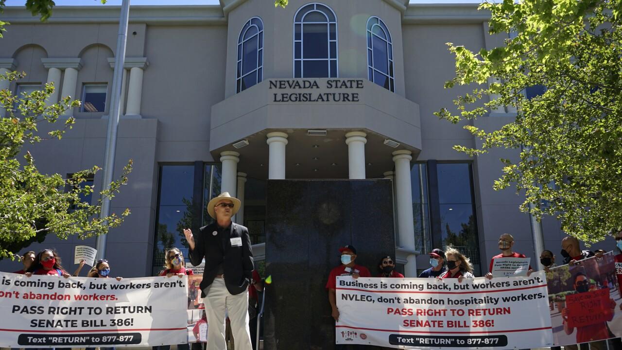 Nevada Legislature-Right to Return