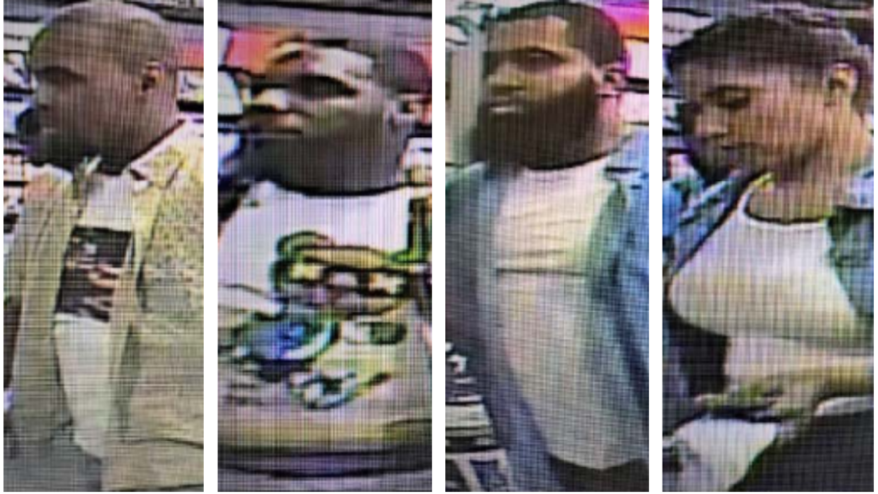 4 wanted in robbery of Colonial Heights Game Stop and AT&T