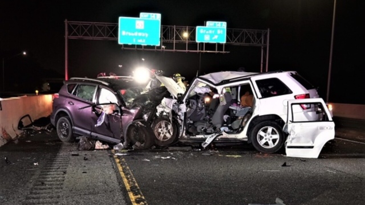 Four killed, three injured in wrong-way crash on Indiana Toll Road