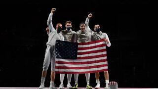 U.S. men defeat Japan for foil team bronze