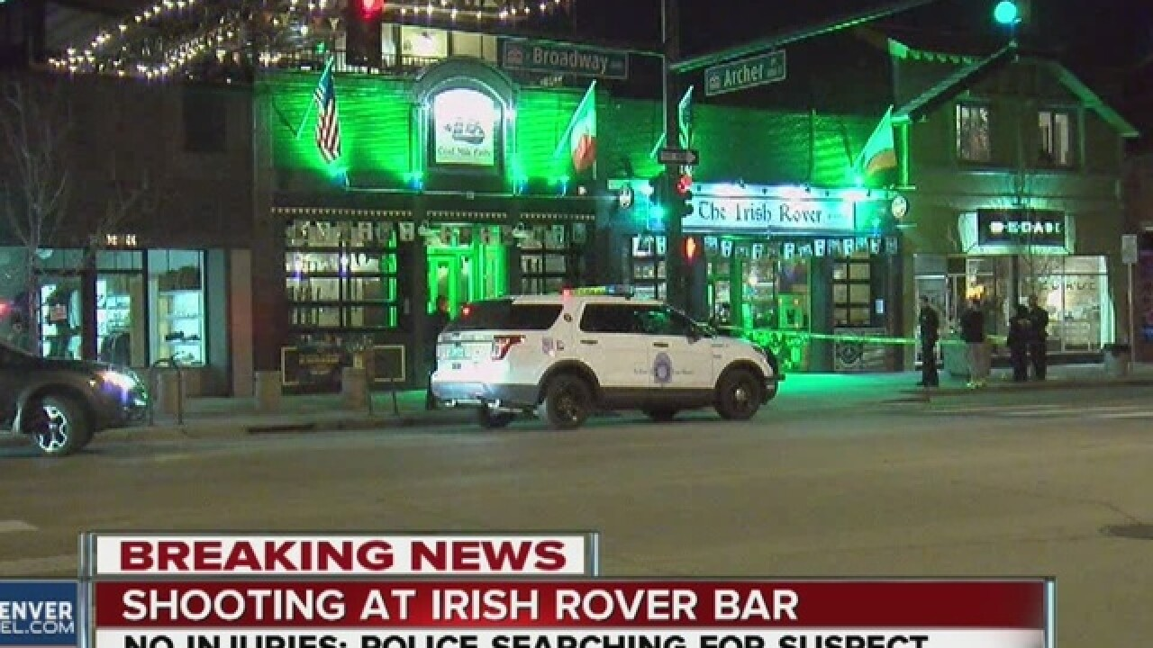 Gunfire at Irish bar on St. Parick's Day weekend
