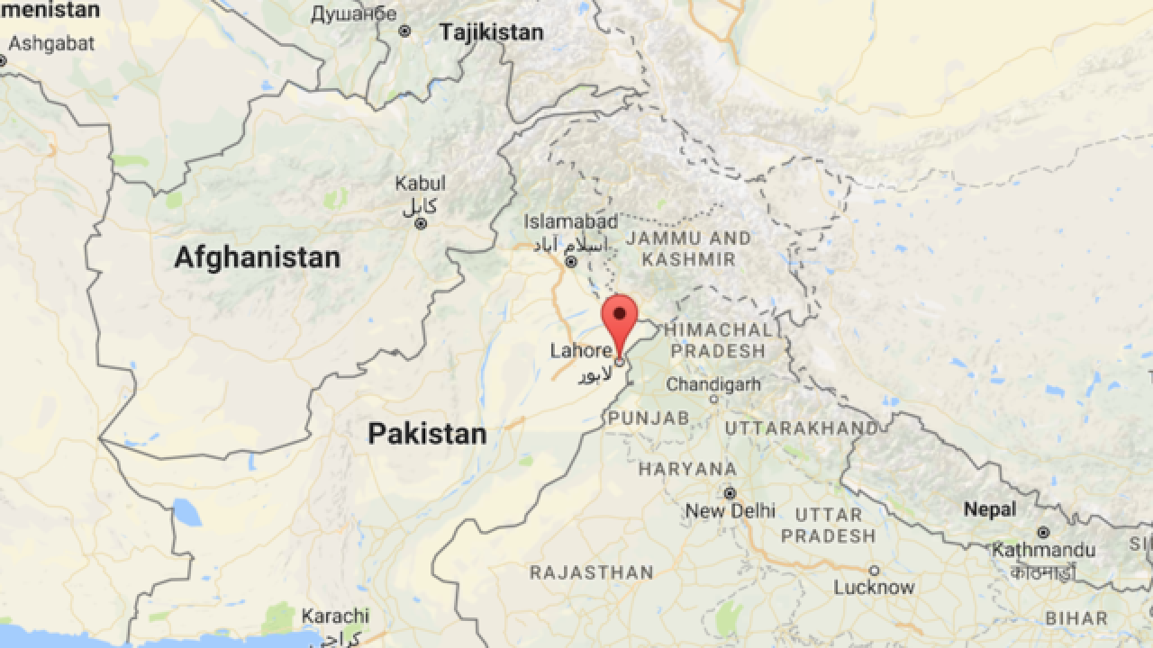 Large bomb explodes in Pakistan, police say