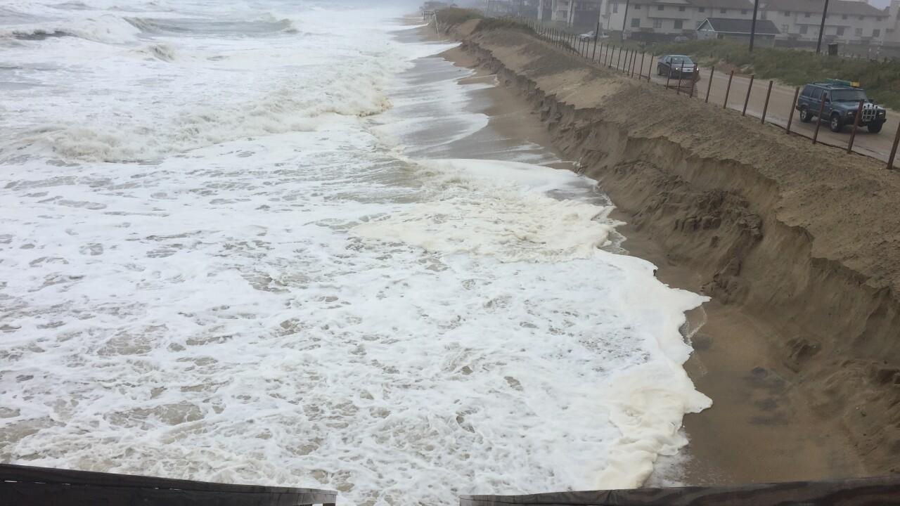 Study examining coastal storm impacts on OBXbegins