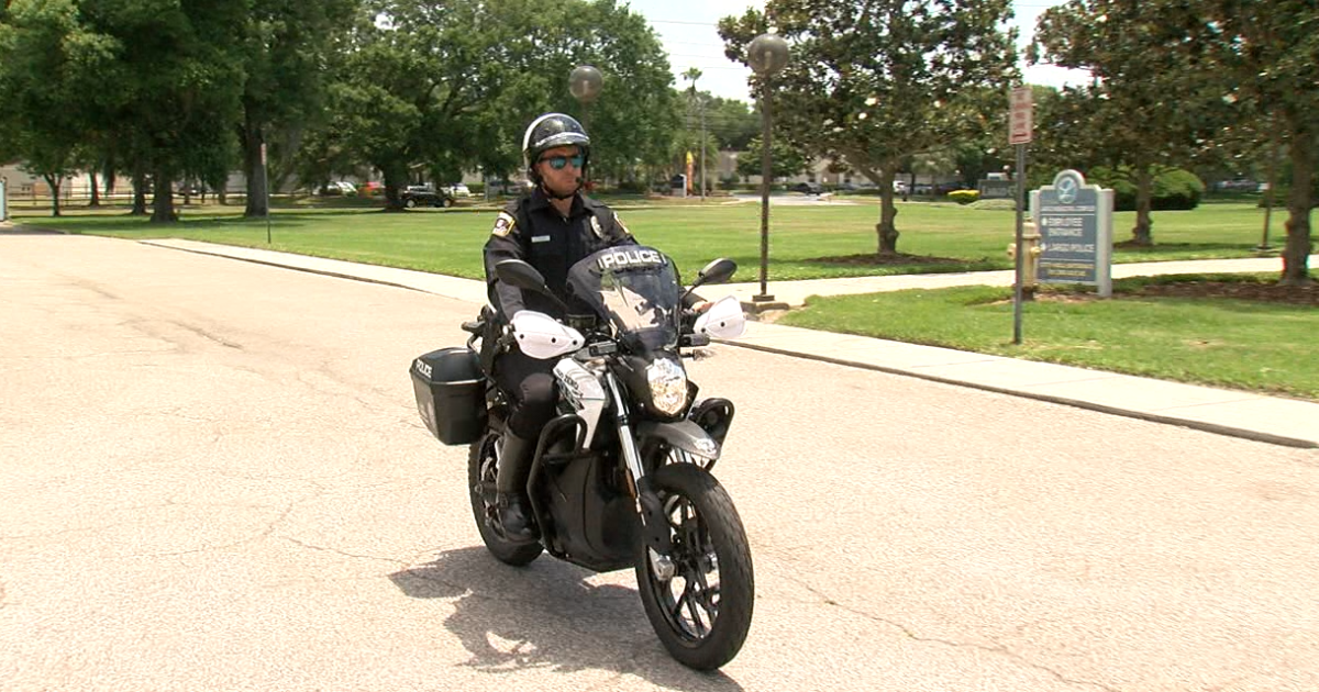 Largo Police Department unveils new electric motorcycles