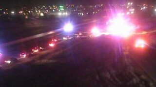 Southbound I-24 closed at 104th Ave. for crash investigation