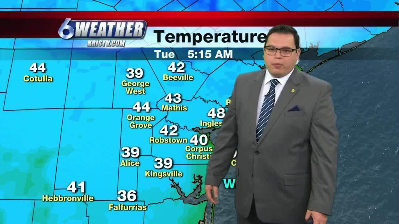 Juan Acuña's weather for Feb. 2, 2021