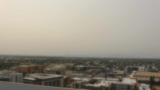 Smoke from Southern California wildfires is clouding Pima County skies.