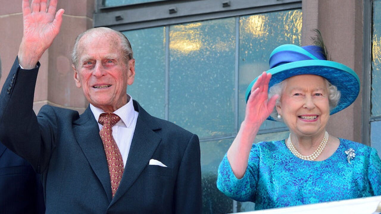 Britain's Prince Philip admitted to hospital