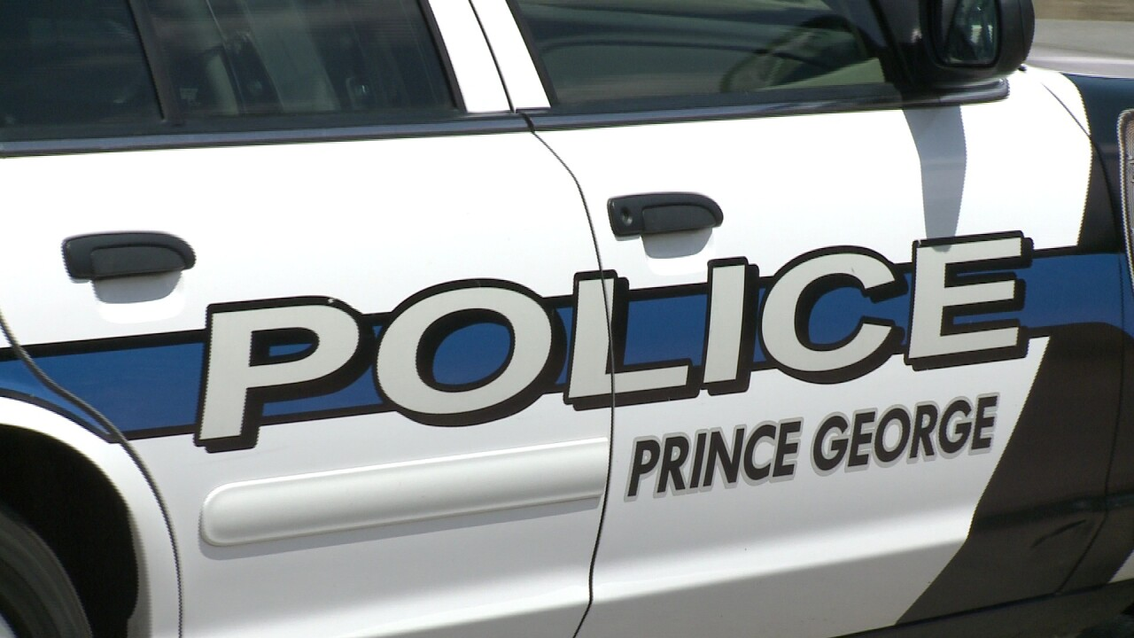 Prince George pursuit ends in Hopewell, police carsdamaged