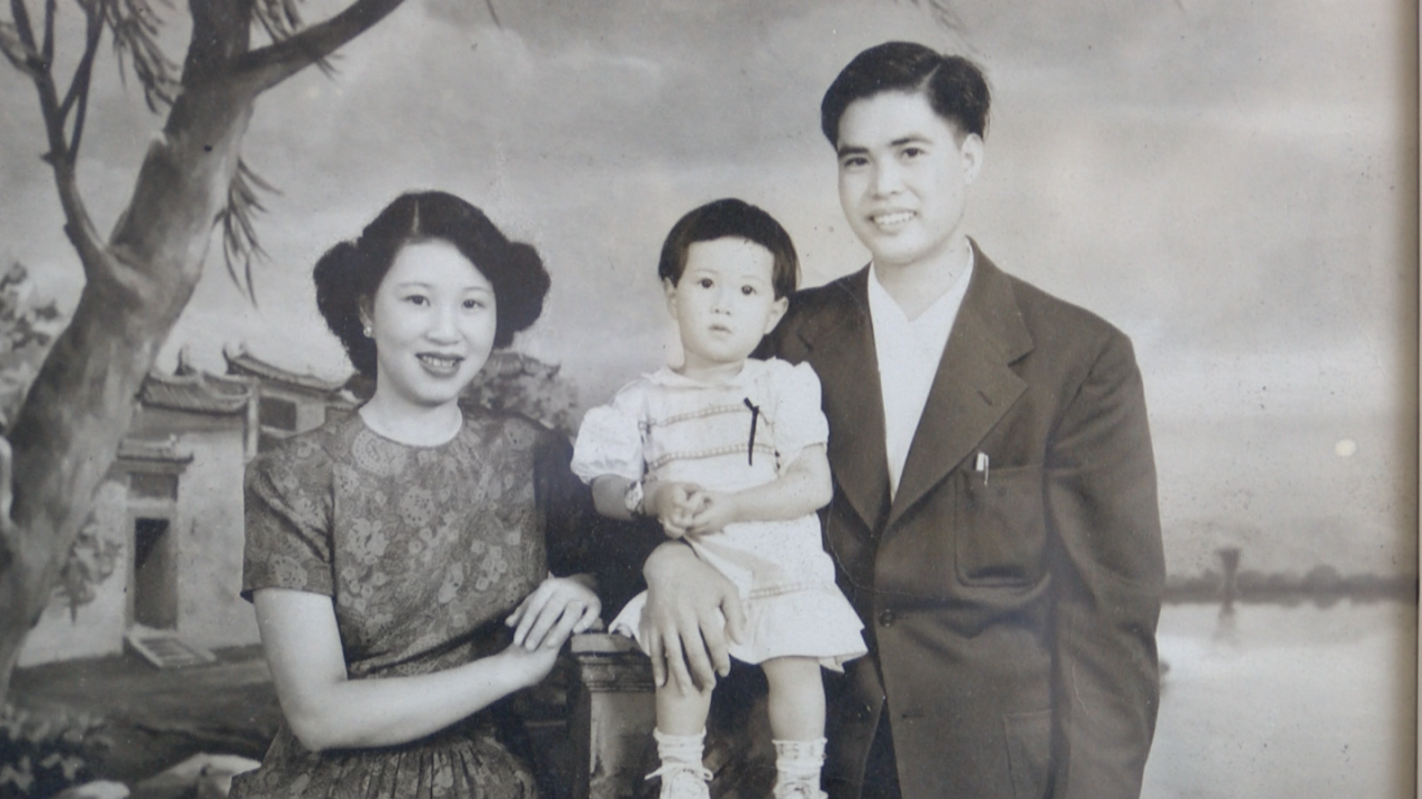 Lee and Tooey Yee with their daughter Shirley.