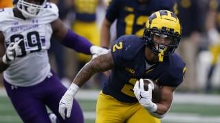 Blake Corum Northwestern Michigan Football
