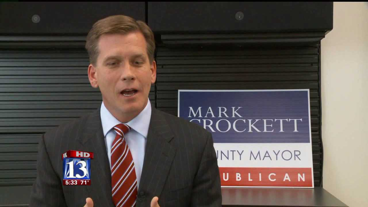 Crockett accused of misusing company logos in campaign