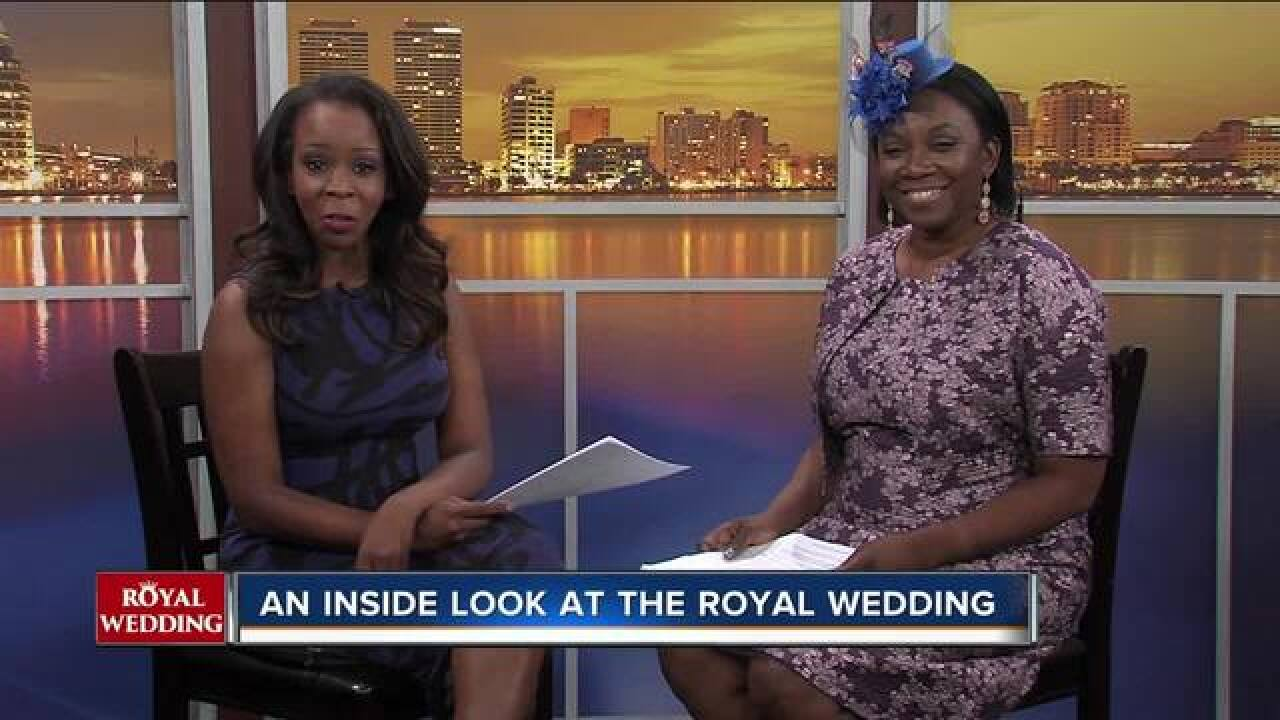 An inside look at the royal wedding with a British native