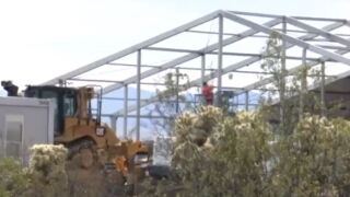 The United States Border Patrol will lead a guided tour of the new tent facility for migrants.