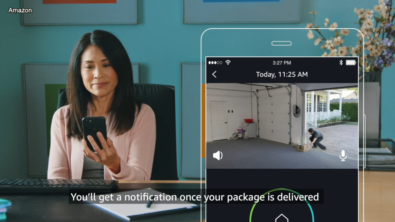 Amazon now offering in-garage delivery option in addition to in-car, in-home