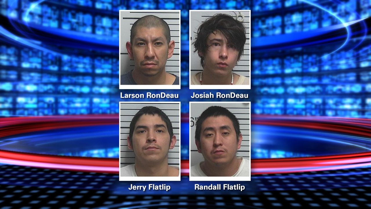 Four arrested for allegedly raping 9-year-old girl while mom smoked meth