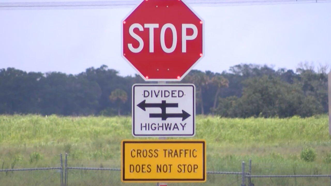 Okeechobee Road near Midway Road sign