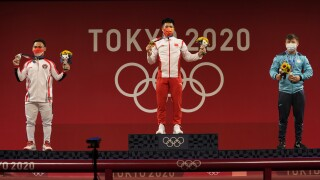 Tokyo Olympics Weightlifting Men