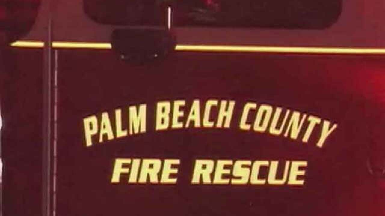 Two people injured in suburban West Palm Beach house fire