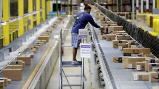 Amazon is conducting warehouse job fairs across the country today