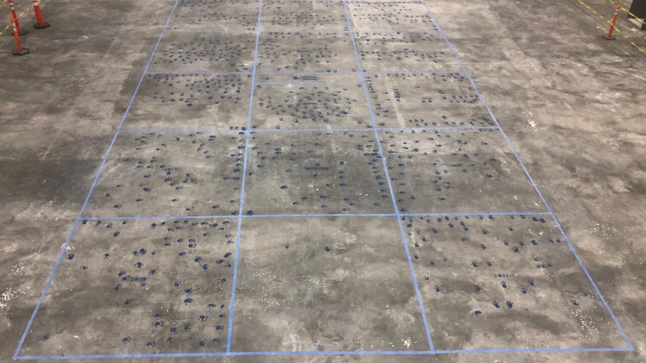 New School Handprint Ceremony