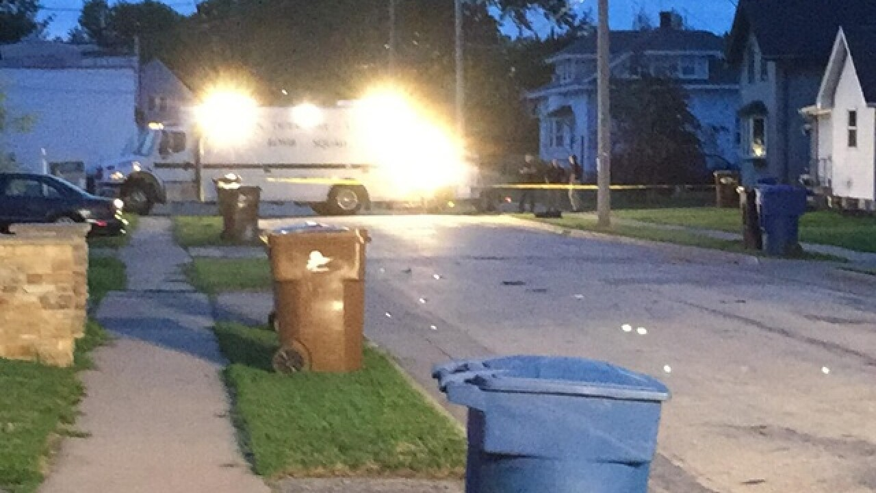 Explosive device blows up motorcycle in Menasha